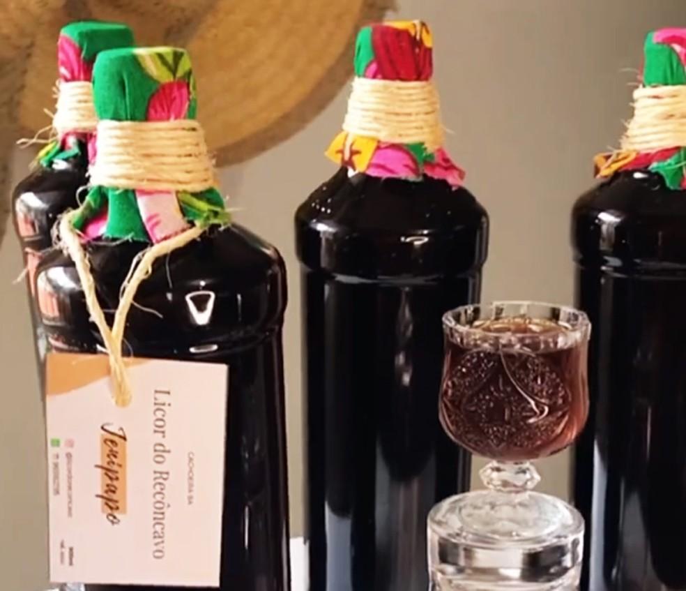 Licor do Recôncavo oferece licores variados dos tracionais, aos especiais e clássicos. — Foto: Divulgação
