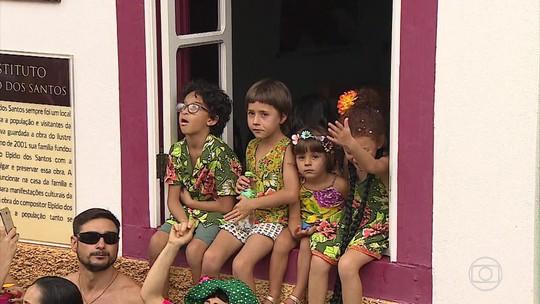 São Luiz do Paraitinga (SP) ganha fama entre foliões de todo o Brasil
