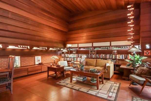 Casa arquitetada por Frank Lloyd Wright (Foto: Divulgação)