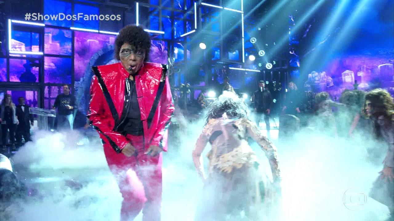 Ludmilla homenageia Michael Jackson