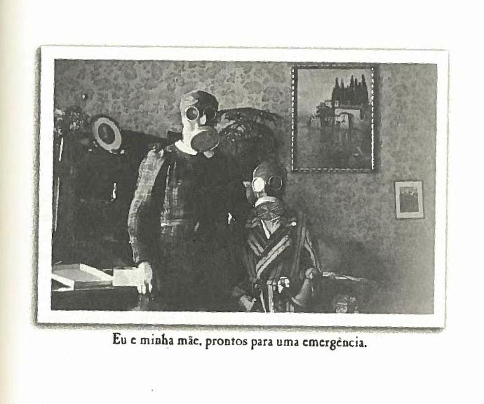 Livro mostra fotos da família Loibl (Foto: Reprodução)