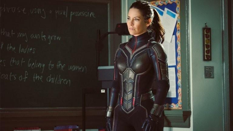 Evangeline Lilly como a Vespa em Homem-Formiga e a Vespa (Foto: Divulgação)