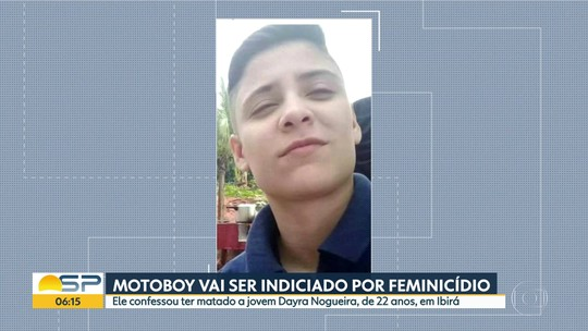 Motoboy vai ser indiciado por feminicídio em Ibirá
