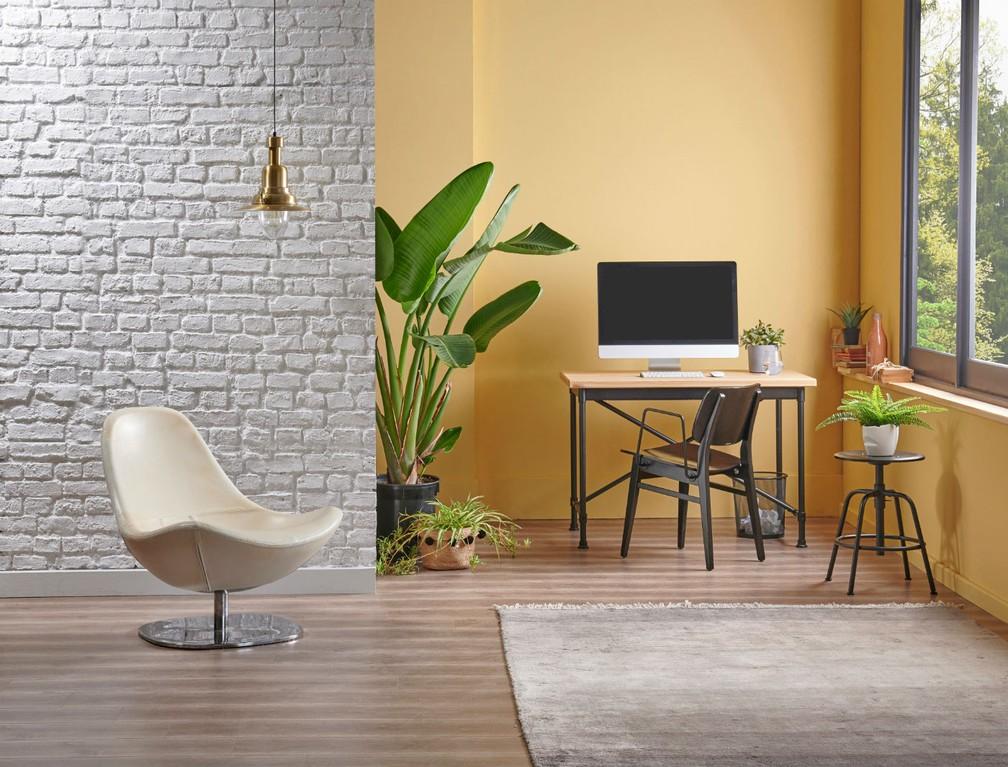 O ideal é apostar em cores claras na decoração — Foto: Divulgação
