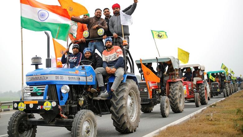 agricultures-protesto-india (Foto: Reuters)