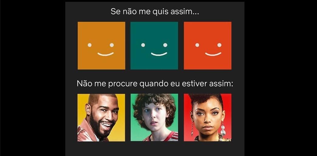 Post da Netflix para anunciar novidade nos avatares (Foto: Reprodução/Instagram/Netflix Brasil)