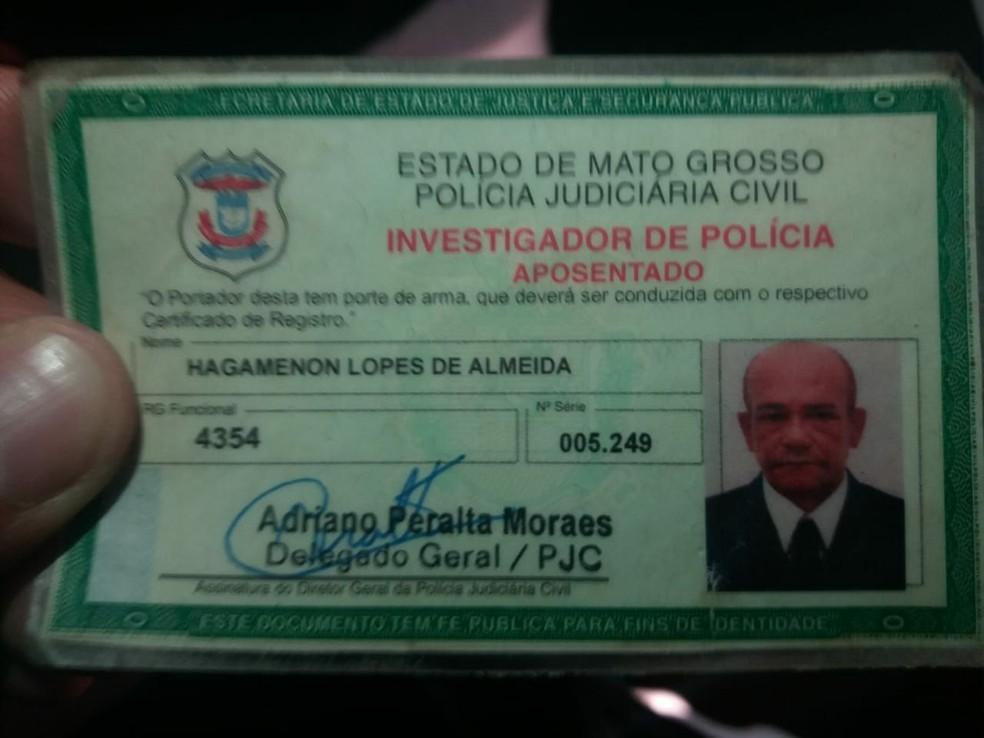 Hagamenon Lopes de Almeida, de 60 anos, morreu atropelado em Cuiabá (Foto: Divulgação)