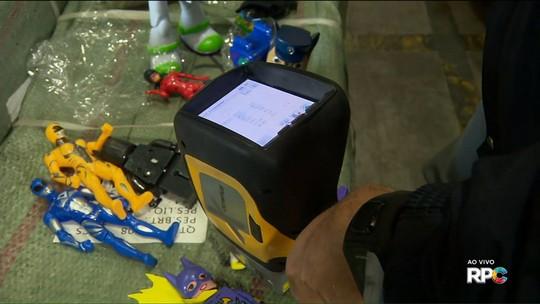 Brinquedos apreendidos têm 40 vezes mais chumbo que o permitido, diz Receita Federal
