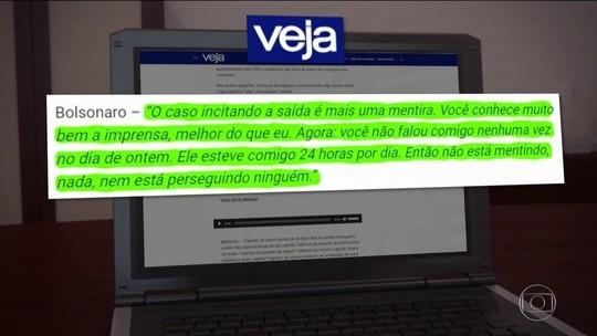 Veja o que disseram Bolsonaro e Bebianno em troca de mensagens