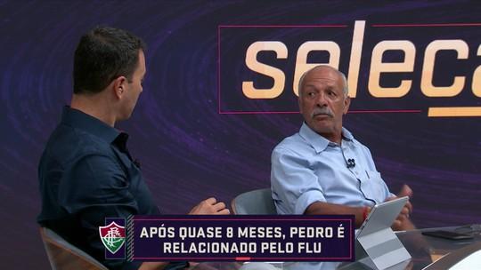"Júnior compara Pedro, do Fluminense, a Roberto Dinamite: ""Sempre presente dentro da área"""
