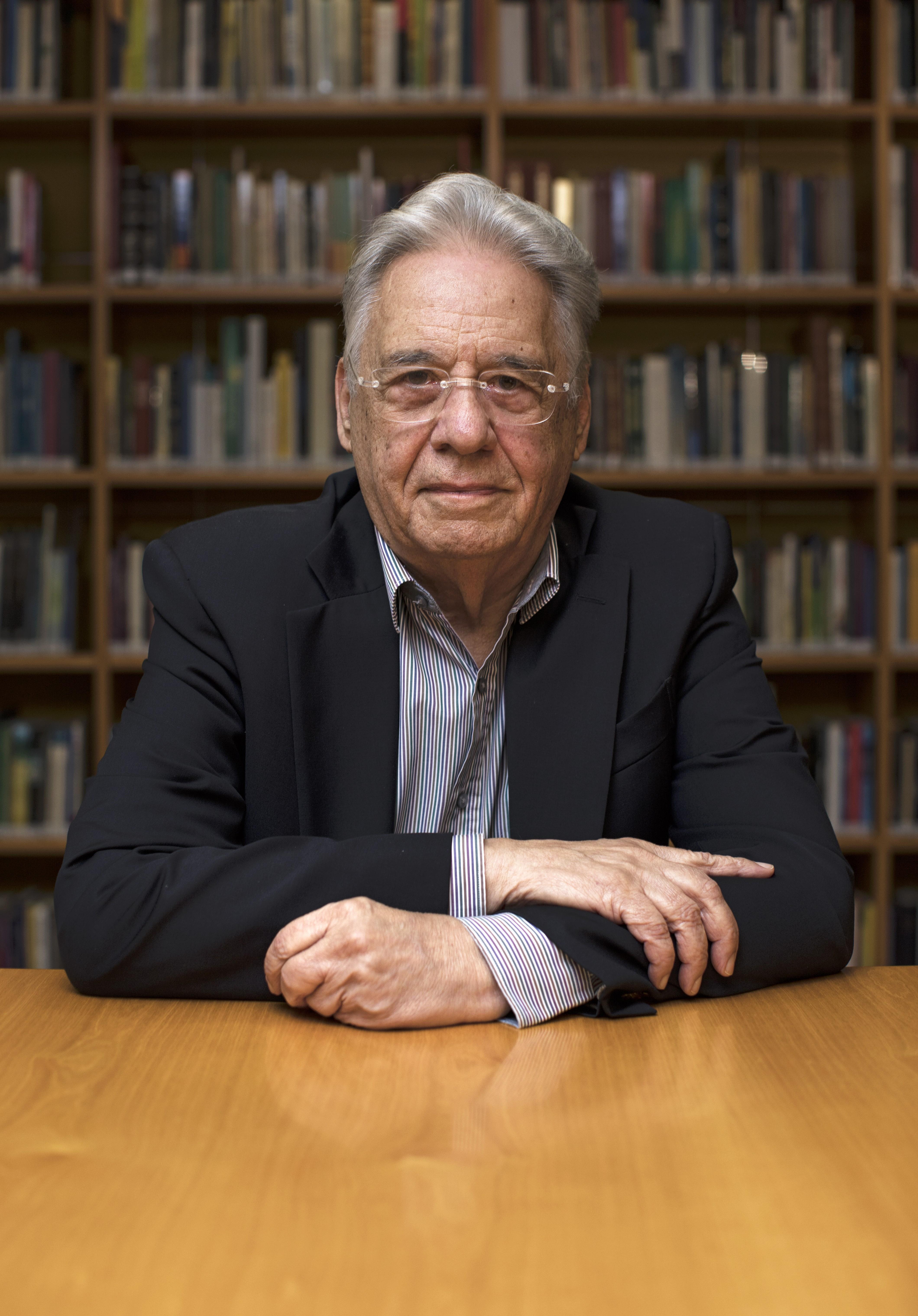 O ex-presidente Fernando Henrique Cardoso participa do Política & Etc (Foto: Rodrigo Paiva)