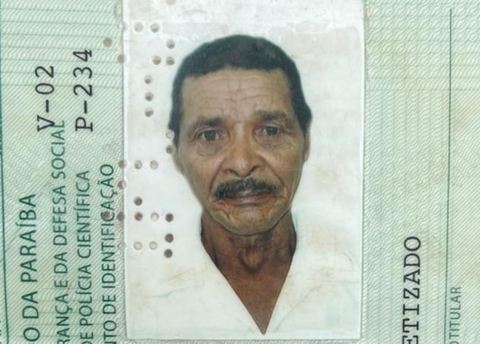 Idoso foi vítima de latrocínio em Alagoa Nova, PB; criminosos o mataram para roubar R$ 3.500 e uma espingarda caseira — Foto: Polícia Civil da Paraíba/Divulgação
