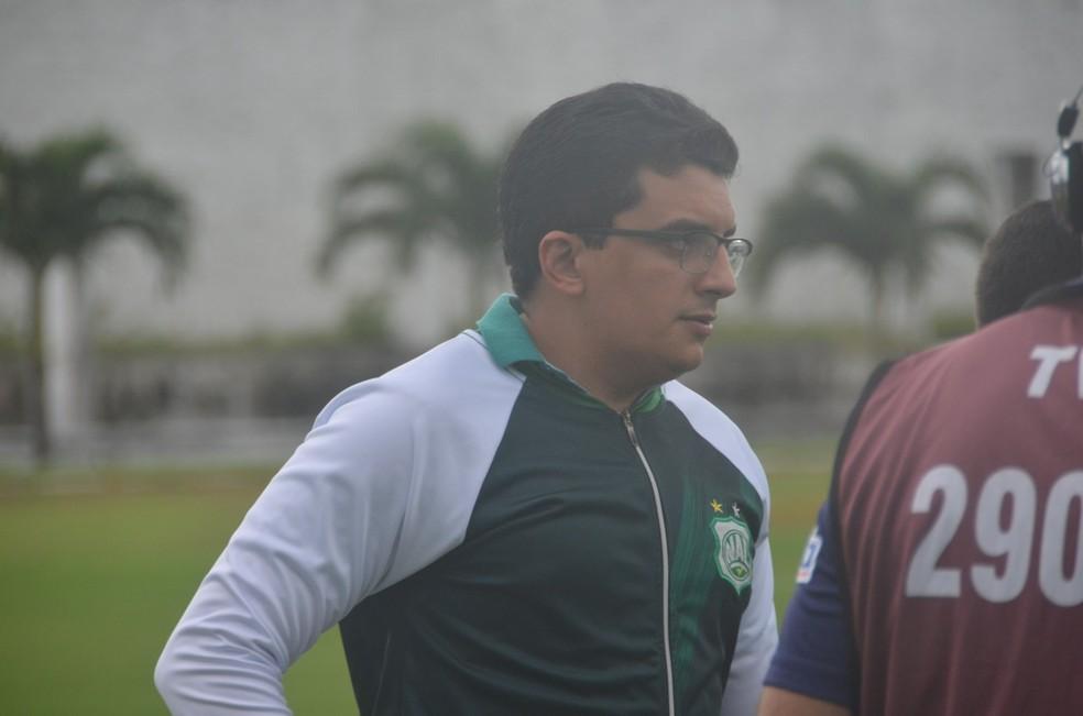 Cleodon Bezerra, presidente do Nacional de Patos — Foto: Caio Guilherme / Nacional de Patos