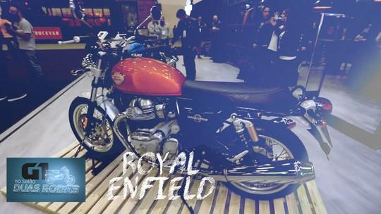 Royal Enfield abre pré-venda das novas Interceptor e Continental GT 650cc a partir de R$ 24.990 e R$ 25.990