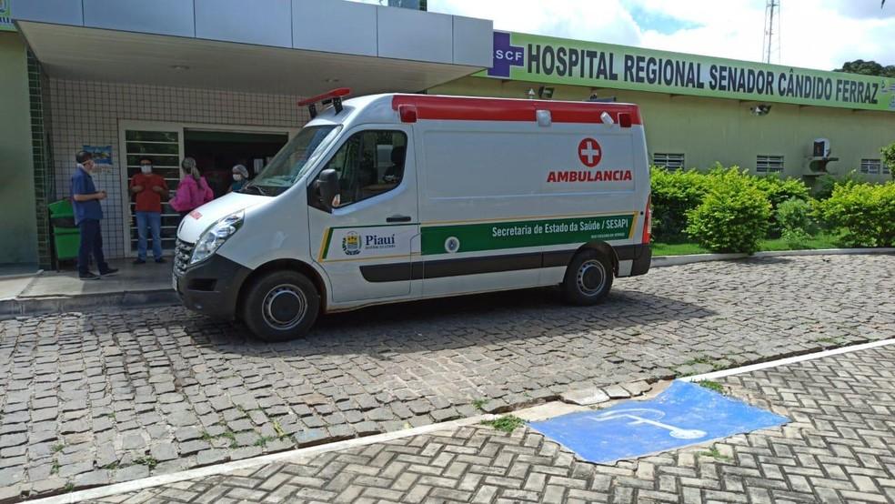 Hospital Regional Senador Cândido Ferraz, em São Raimundo Nonato — Foto: Divulgação/Sesapi