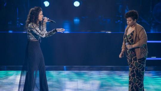 Larissa Marinonio e Samara Alves representaram o Time Ivete nas Batalhas, veja como foi a disputa no 'The Voice'