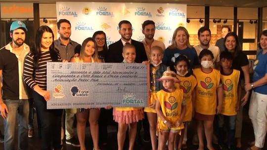 Fortal Solidário faz entrega de doações para instituições beneficiadas
