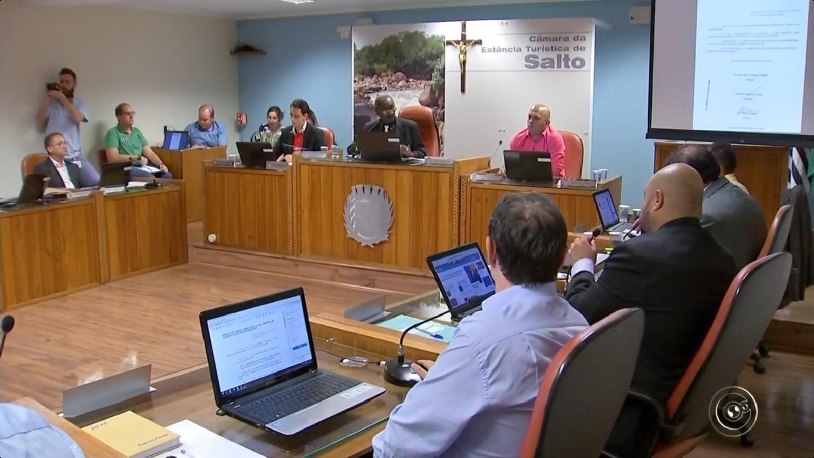 Câmara de Salto estuda redução do número de vereadores