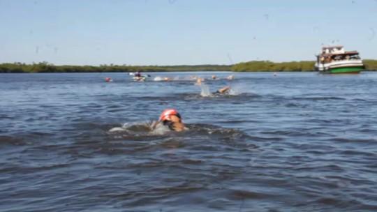 Maratona aquática promove nova experiência na intocada Ilha das Peças
