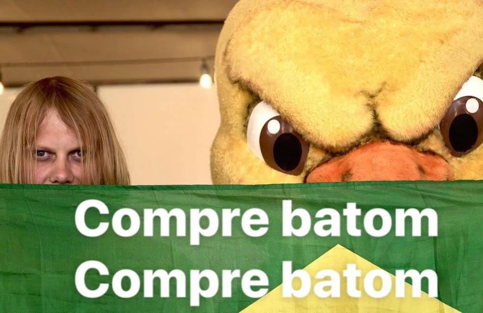 Compre batom (Foto: Reprodução)