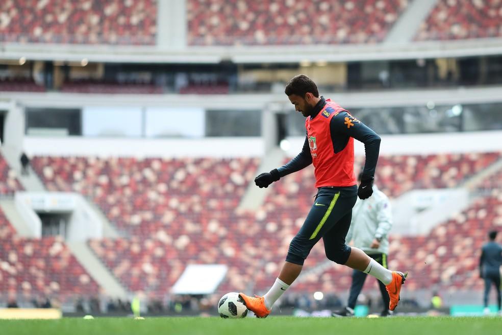 Willian José será observado in loco em mais dois jogos (Foto: Lucas Figueiredo/CBF)
