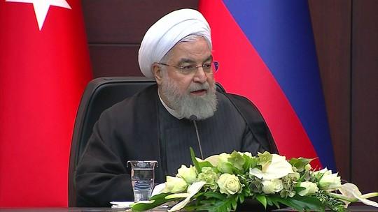 """Irã diz que terá resposta """"imediata"""" de qualquer ação dos EUA contra o país"""