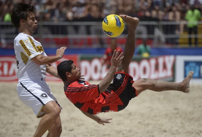 flamengo x botafogo semifinal mundialito futebol de areia (Foto: Alexandre Loureiro - Inovafoto)
