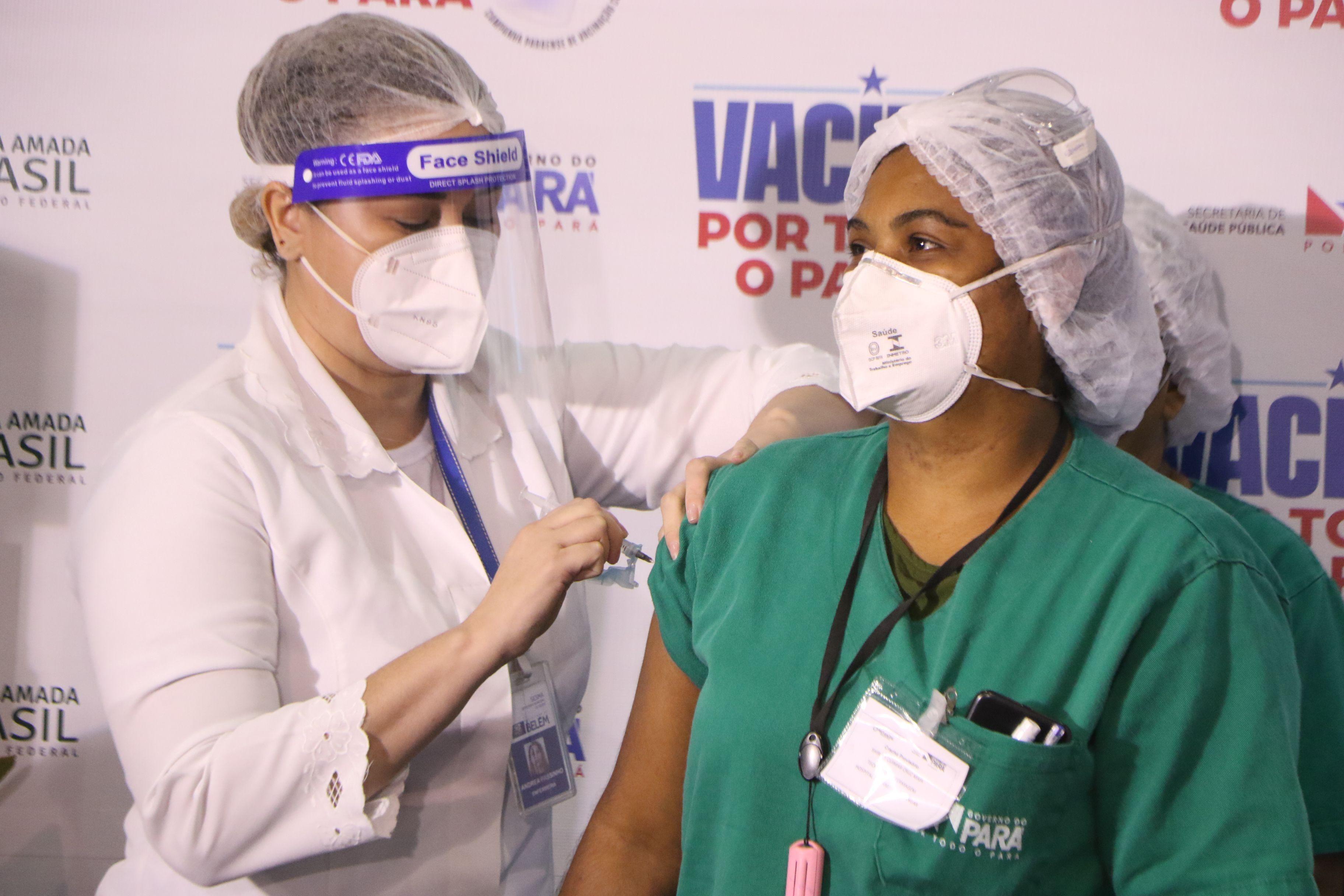 Vacina contra Covid-19 em Belém: veja quem pode ser vacinado hoje e o que fazer