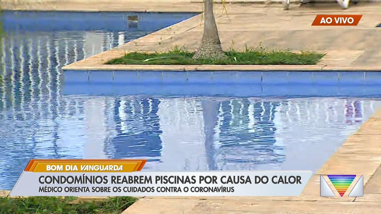 Médico orienta sobre cuidados com reaberturas de piscinas em condomínios