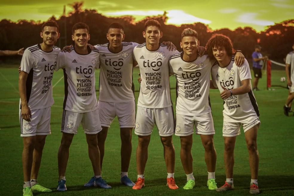 Paraguaios tiveram confrontos contra sul-americanos e saíram invictos — Foto: Divulgação Associação Paraguaia de Futebol