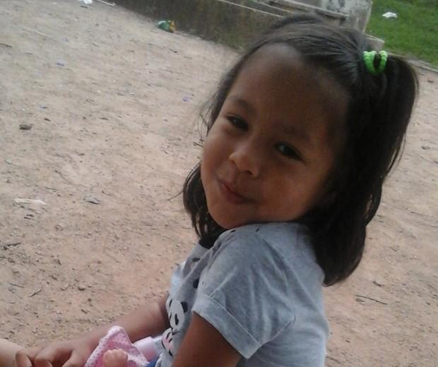 Maya hoje tem 6 anos de idade (Foto: Arquivo pessoal)