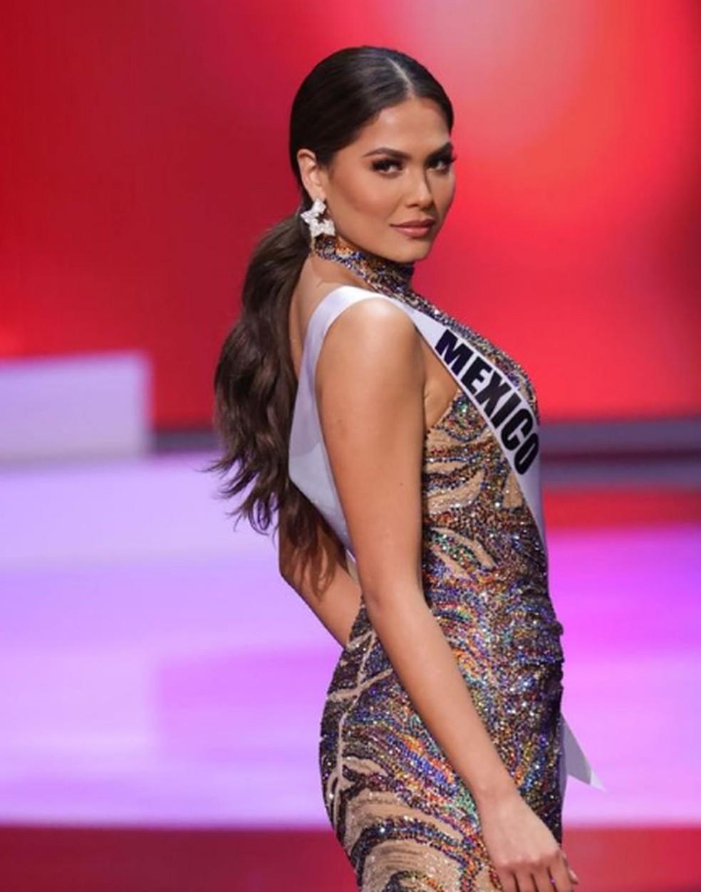 A mexicana Andrea Meza, eleita Miss Universo  — Foto: Reprodução Instagram/andreamezamx