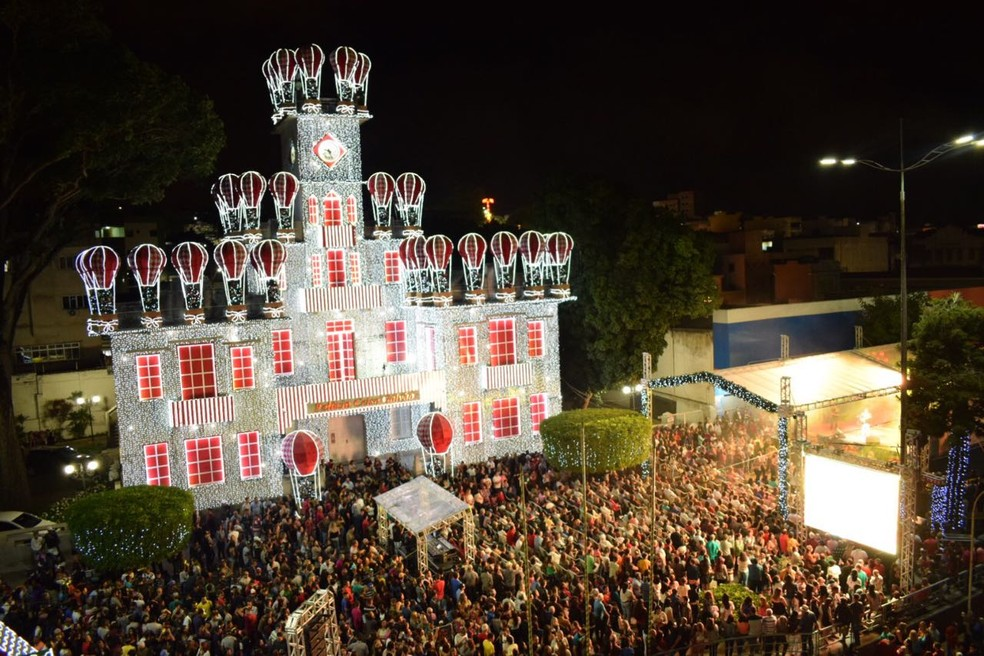 'A Magia do Natal' de Garanhuns — Foto: Secom/PMG