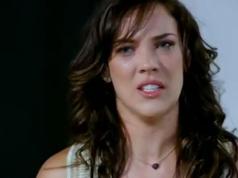 Patrícia fica em choque com atitude de Tereza Cristina em 'Fina Estampa' — Foto: Globo
