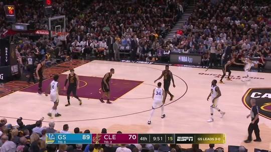 Melhores momentos: Golden State Warriors 108 x 85 Cleveland Cavaliers pela final da NBA