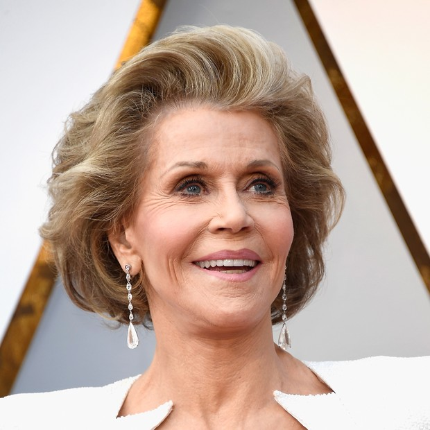HOLLYWOOD, CA - MARCH 04:  Jane Fonda attends the 90th Annual Academy Awards at Hollywood & Highland Center on March 4, 2018 in Hollywood, California.  (Photo by Frazer Harrison/Getty Images) (Foto: Getty Images)