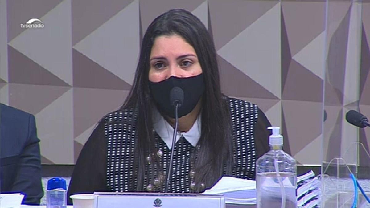 Advogada diz na CPI que Prevent e o chamado gabinete paralelo se uniram para difundir cloroquina