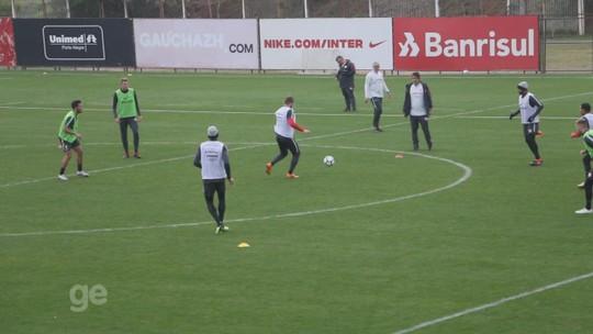 Sem D'Ale, Dourado e Edenílson, Inter faz trabalho tático; Zeca segue retreinamento
