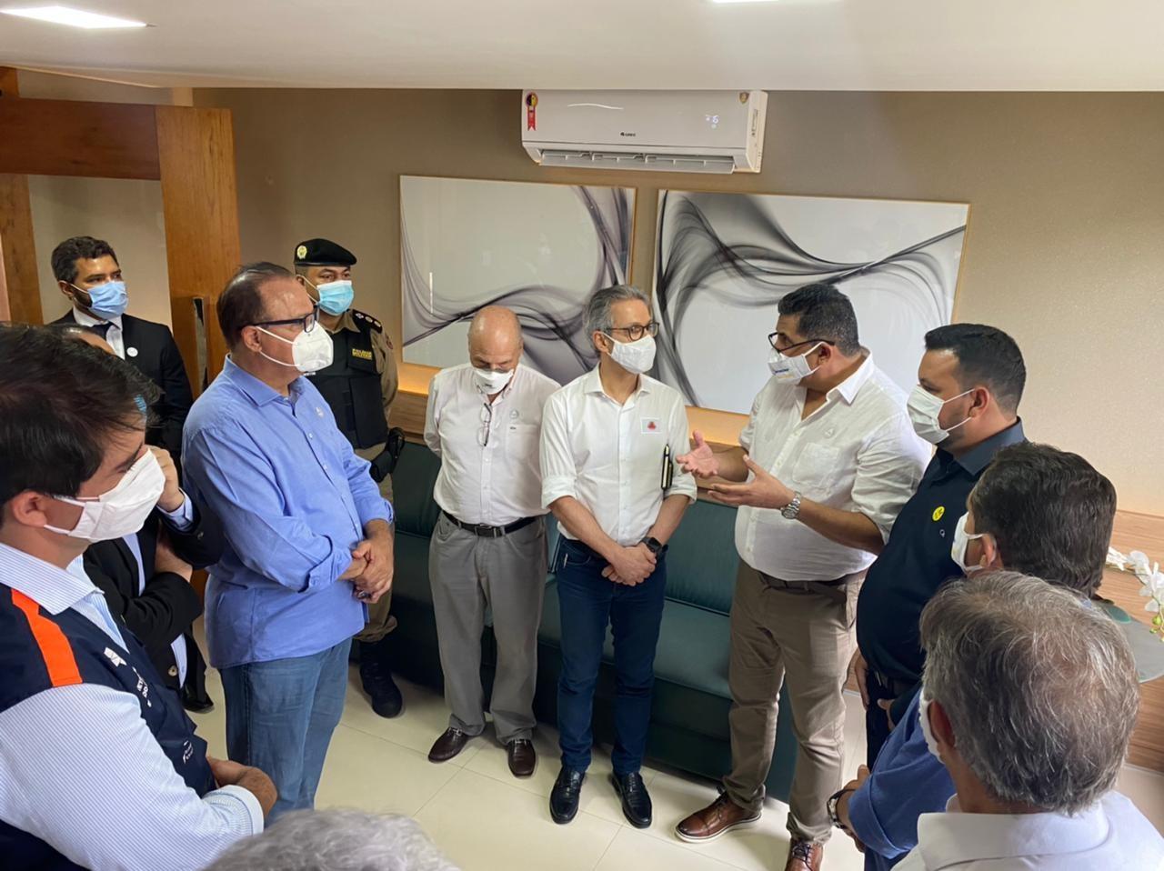 Governador Romeu Zema inaugura 10 leitos de UTI Covid no Hospital Fundajan, em Janaúba