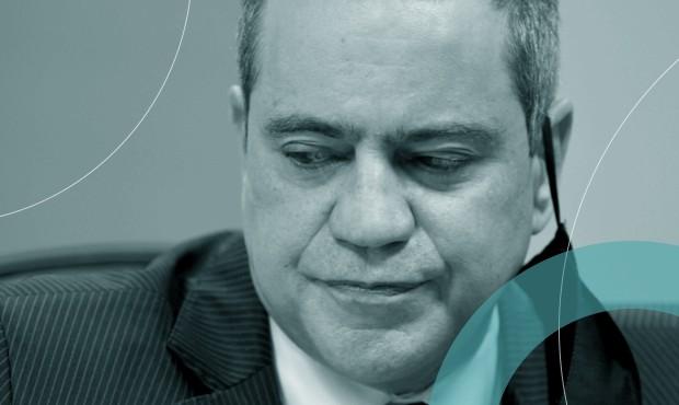 Ex-secretário executivo do Ministério da Saúde, Élcio Franco, em depoimento à CPI da Covid-19