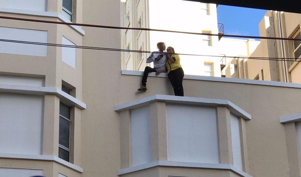 -  Suspeito tentou fugir antes da prisão, diz polícia  Foto: Arquivo pessoal