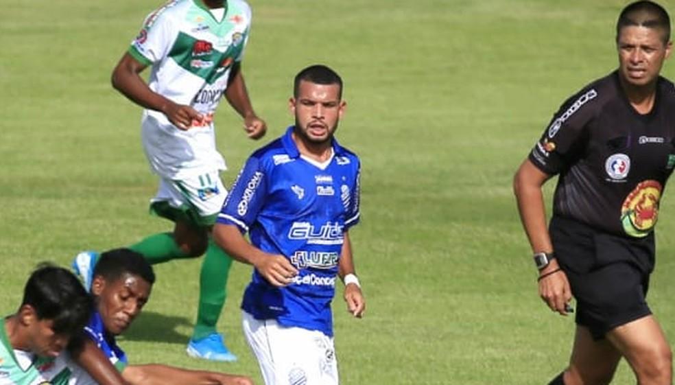 Andrey Rafael, o Rafinha, ex-CSA e Coruripe — Foto: Ailton Cruz
