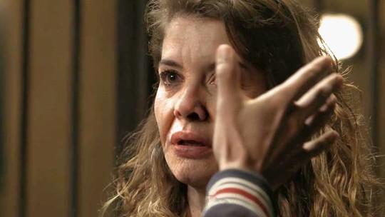 Isabel fica apavorada após Felipe tocar seu rosto e mostrar sua verdadeira face; reveja a cena