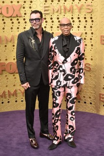 Georges LuBar e RuPaul (Foto: Getty Images)