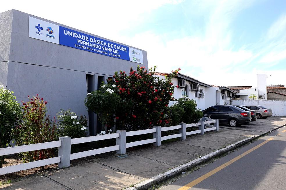 UBS Fernando Sampaio em Aracaju — Foto: Asscom/SMS