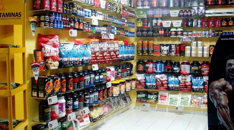 Loja de suplementos. Anvisa criou regras para o setor (Foto: Reprodução)