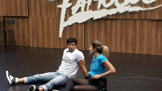 Dani Calabresa volta aos ensaios no 'Dança dos Famosos'