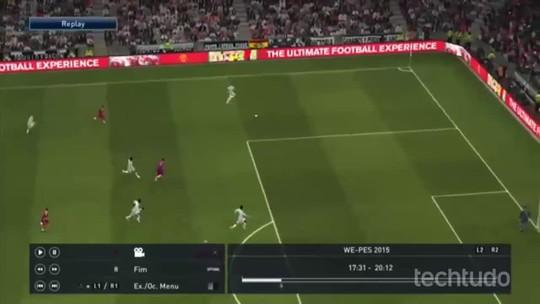PES 2015: veja como salvar, assistir e baixar replays dos seus gols