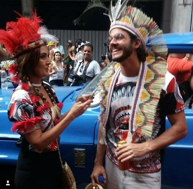 Túlio Gadelha e Fátima Bernardes (Foto: Reprodução/Instagram)