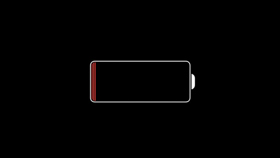Símbolo de carregamento do iPhone irá aparecer na sua tela (Foto: Reprodução/Lucas Mendes)